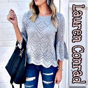 Lauren Conrad | Bell Sleeve Pullover Sweater SZ XL